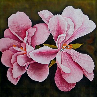 Silk Painting Zonal Pelargonium