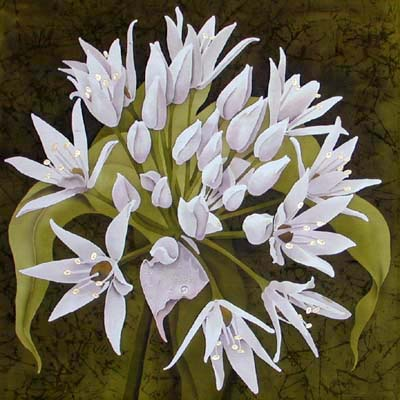 Silk Painting Ramsons